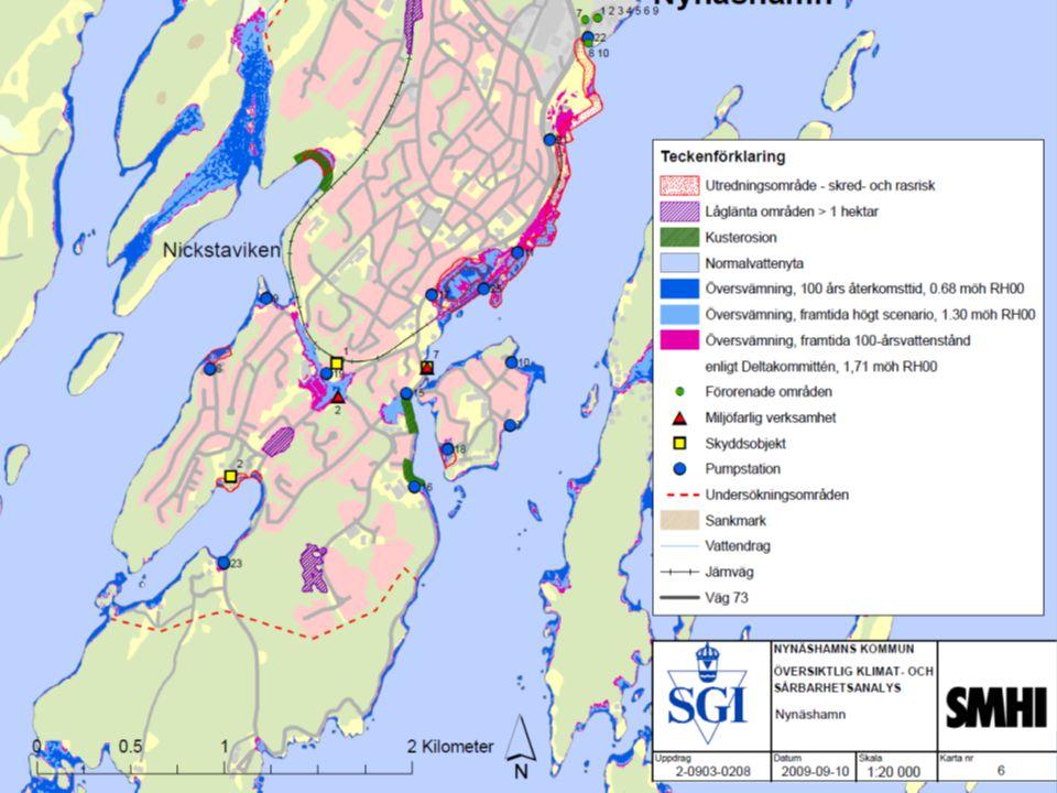 Jonas Qvarfordt - Miljöstrateg Framtida havsnivåer i Stockholms län 12