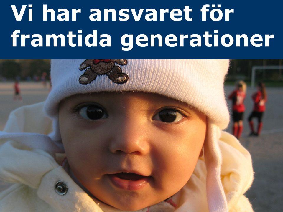 Jonas Qvarfordt - Miljöstrateg Framtida havsnivåer i Stockholms län 21 Vi har ansvaret för framtida generationer