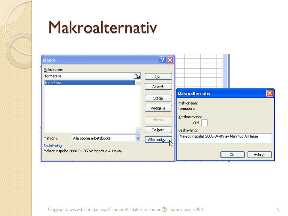 Makroalternativ 9
