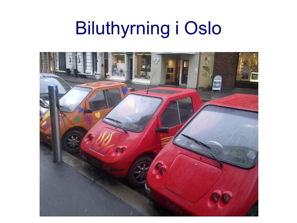 Biluthyrning i Oslo