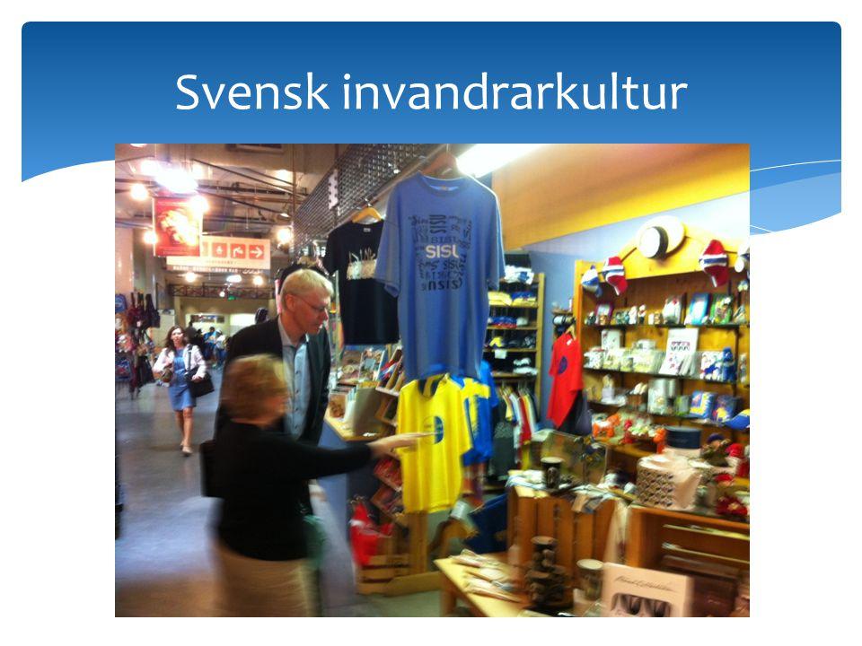 Svensk invandrarkultur