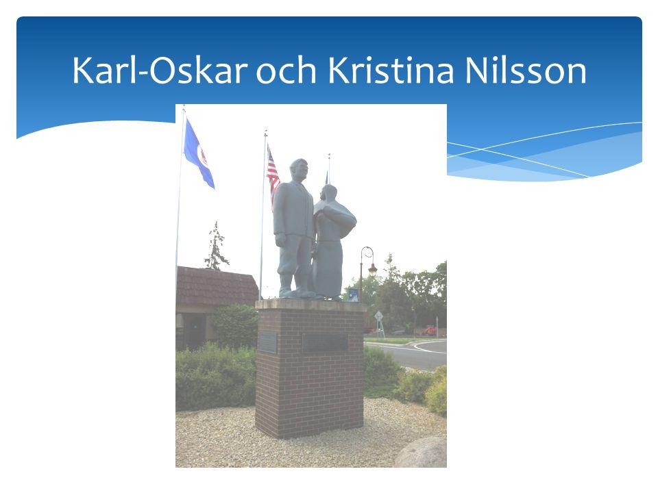 Karl-Oskar och Kristina Nilsson