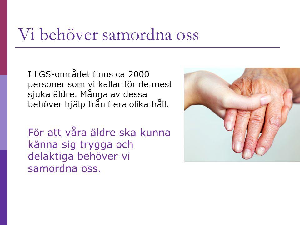 I LGS-området finns ca 2000 personer som vi kallar för de mest sjuka äldre.