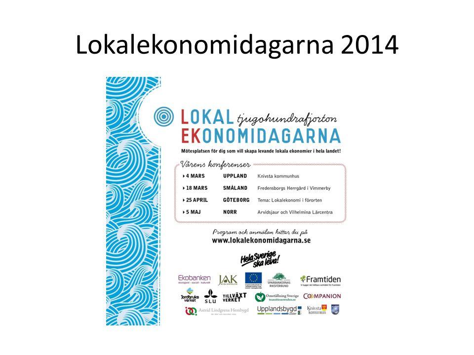 Lokalekonomidagarna 2014