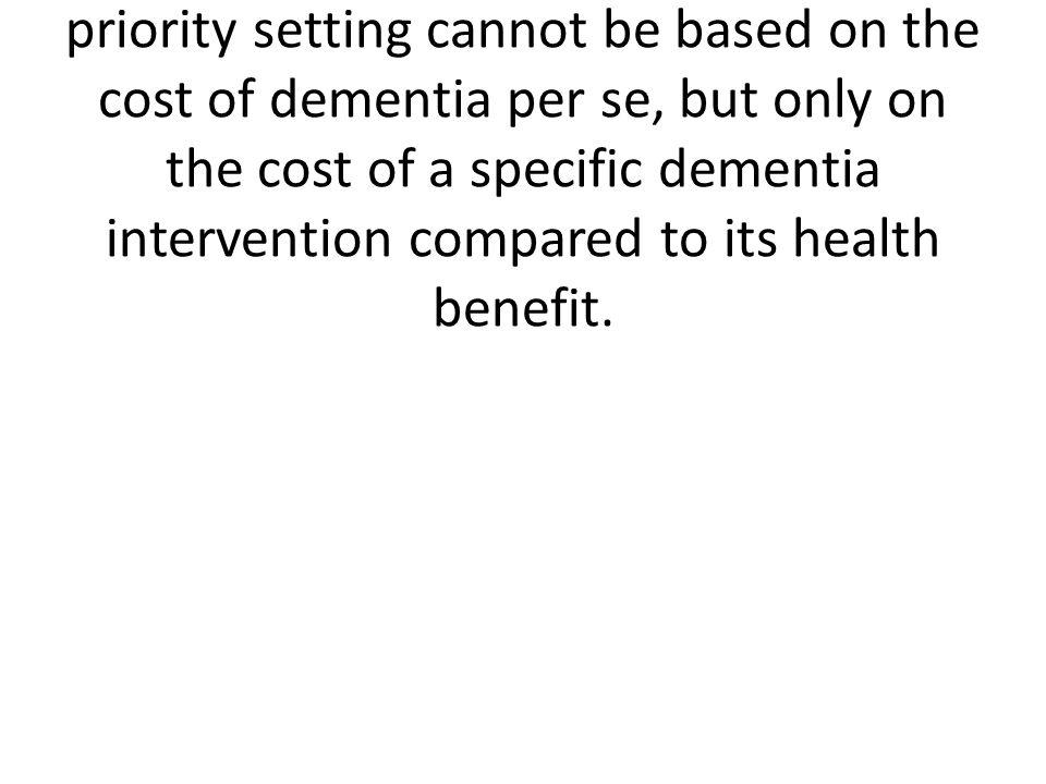 Costs of dementia in denmarkDKK 77,000 per person per year.