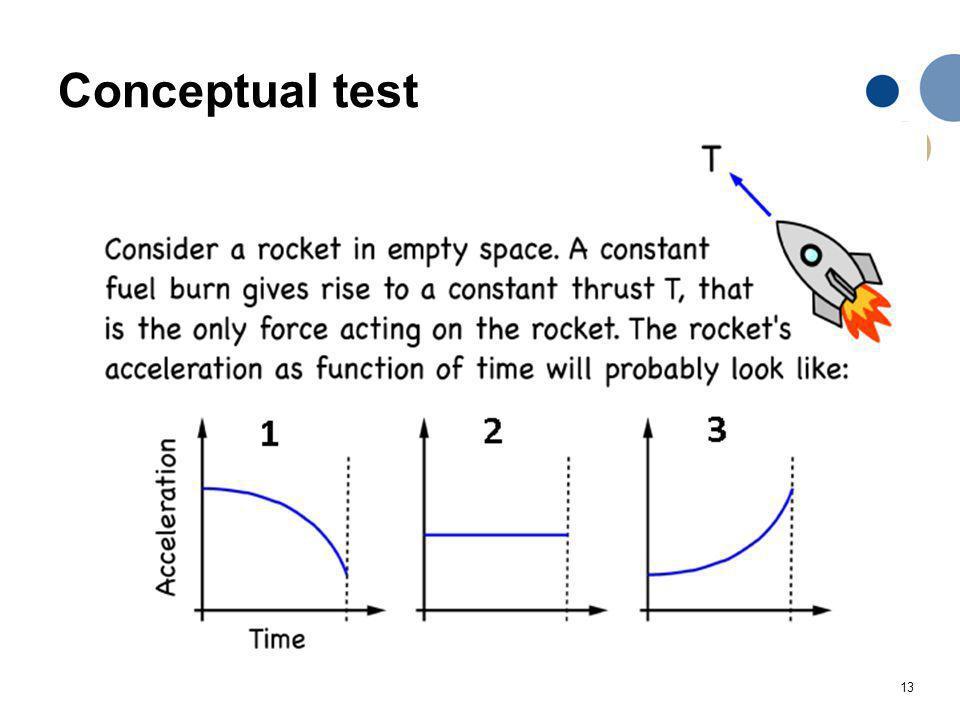 13 Conceptual test