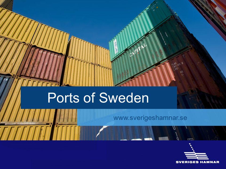 16 Ports of Sweden www.sverigeshamnar.se