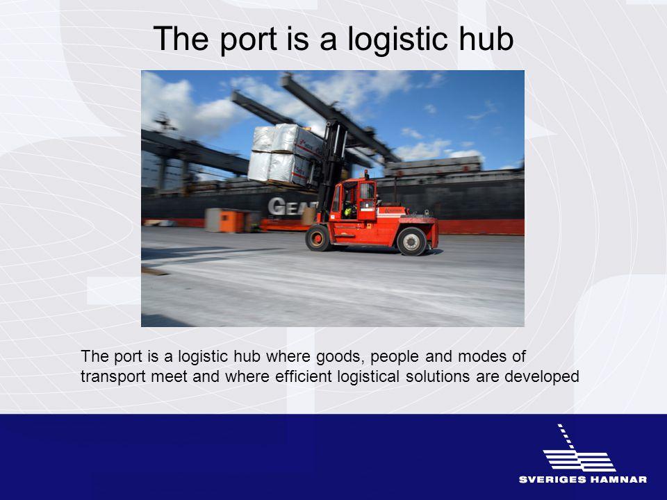Cooperation between port companies