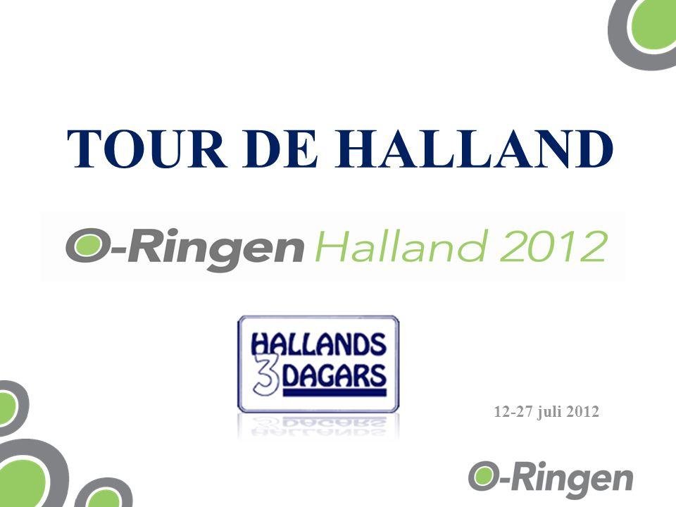 TOUR DE HALLAND 12-27 juli 2012