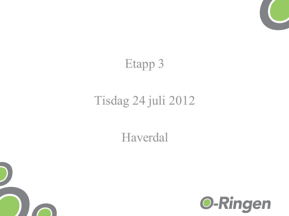 Etapp 3 Tisdag 24 juli 2012 Haverdal