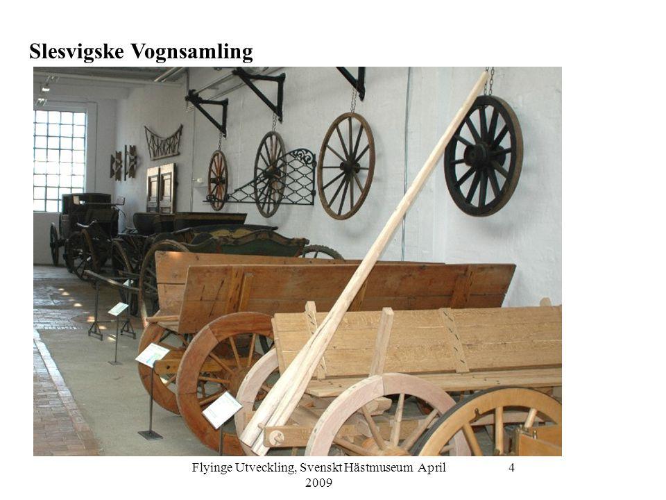 Flyinge Utveckling, Svenskt Hästmuseum April 2009 5 Deutsches Pferdemuseum i Verden