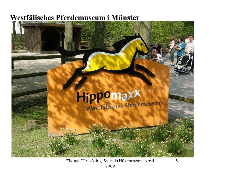 Flyinge Utveckling, Svenskt Hästmuseum April 2009 9 Westfälisches Pferdemuseum i Münster