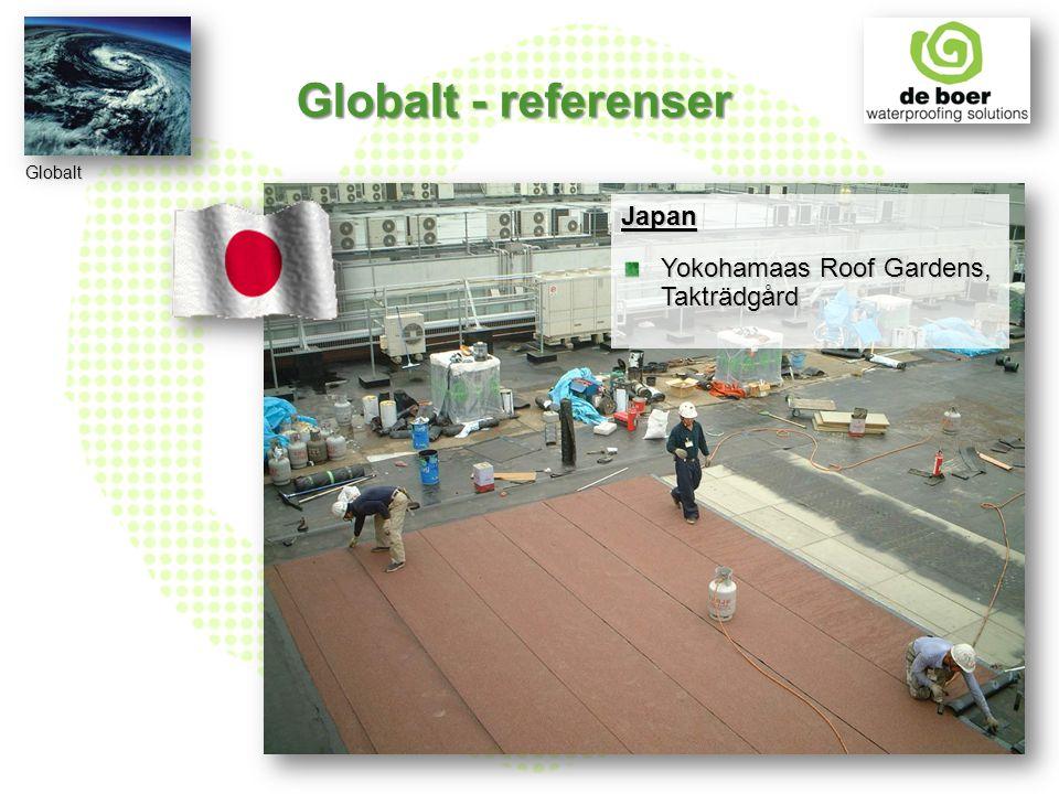 Japan Yokohamaas Roof Gardens, Takträdgård Globalt Globalt - referenser