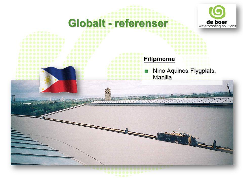 Filipinerna Nino Aquinos Flygplats, Manilla Globalt - referenser