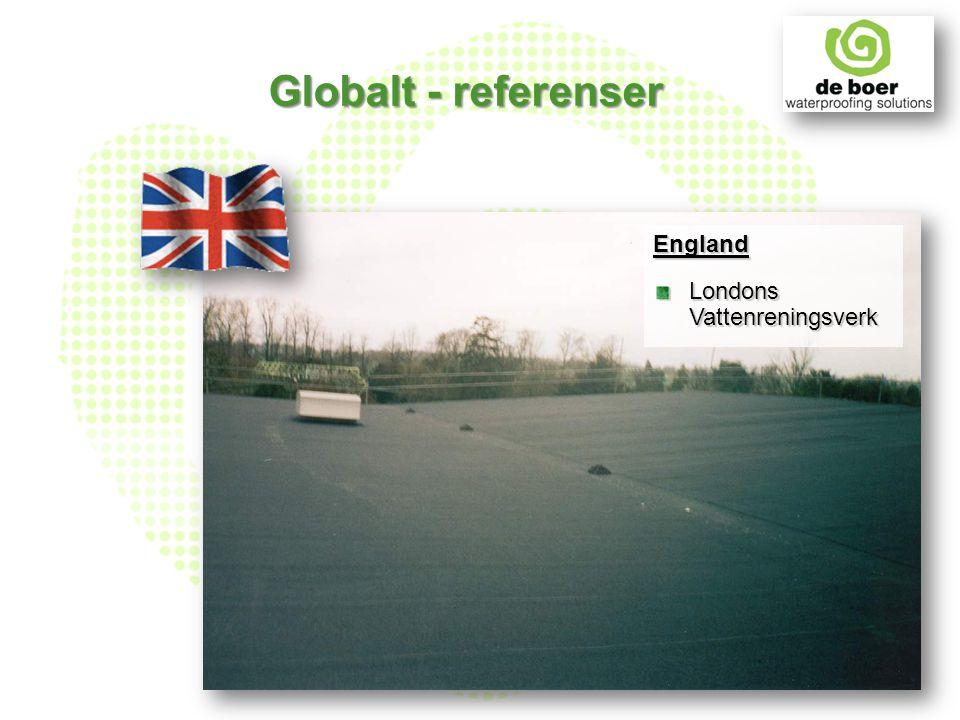England Londons Vattenreningsverk Globalt - referenser