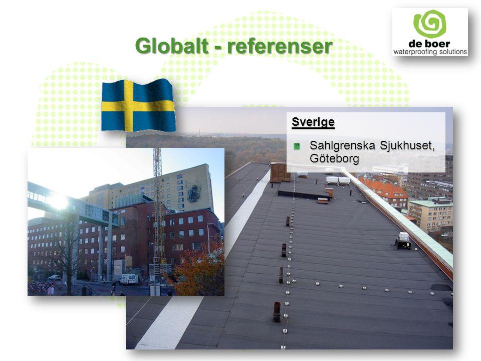 Sverige Sahlgrenska Sjukhuset, Göteborg Globalt - referenser