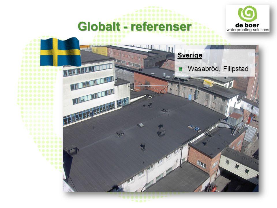 Sverige Wasabröd, Filipstad Globalt - referenser