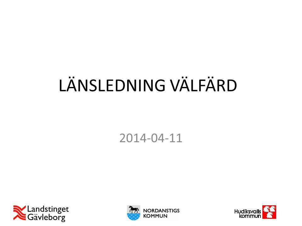 LÄNSLEDNING VÄLFÄRD 2014-04-11