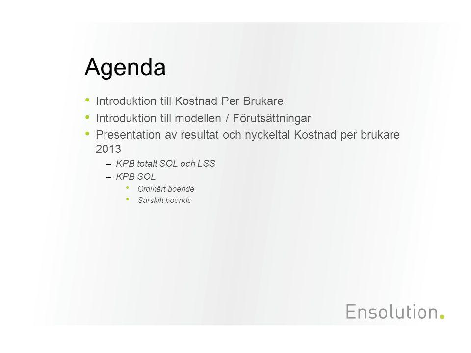 Interna enhetskostnader/hemtjänsttimme inkl. natt och delegerad HSL 2012-2013