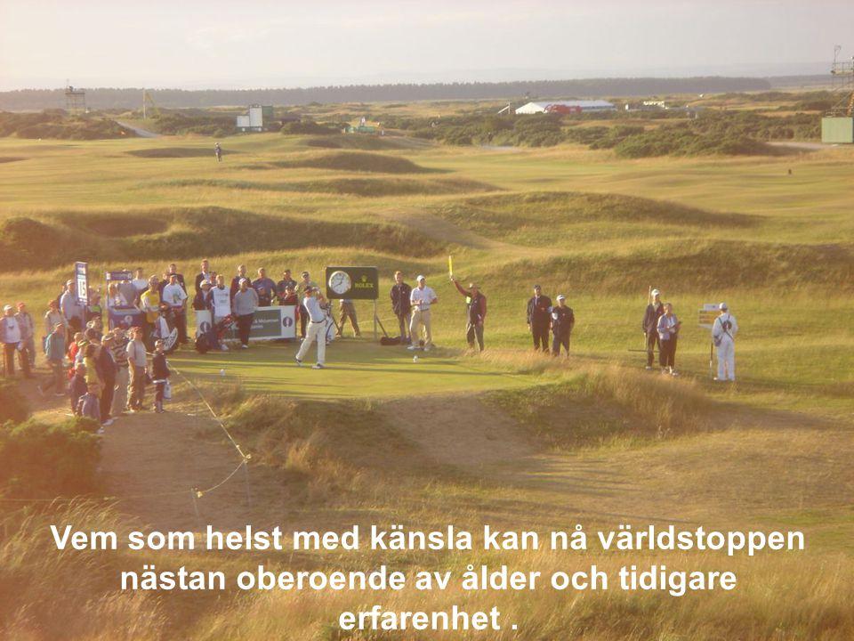 En golfbana är renare för miljön än motsvarande yta jordbruk, och ofta renare än motsvarande yta skogsmark.