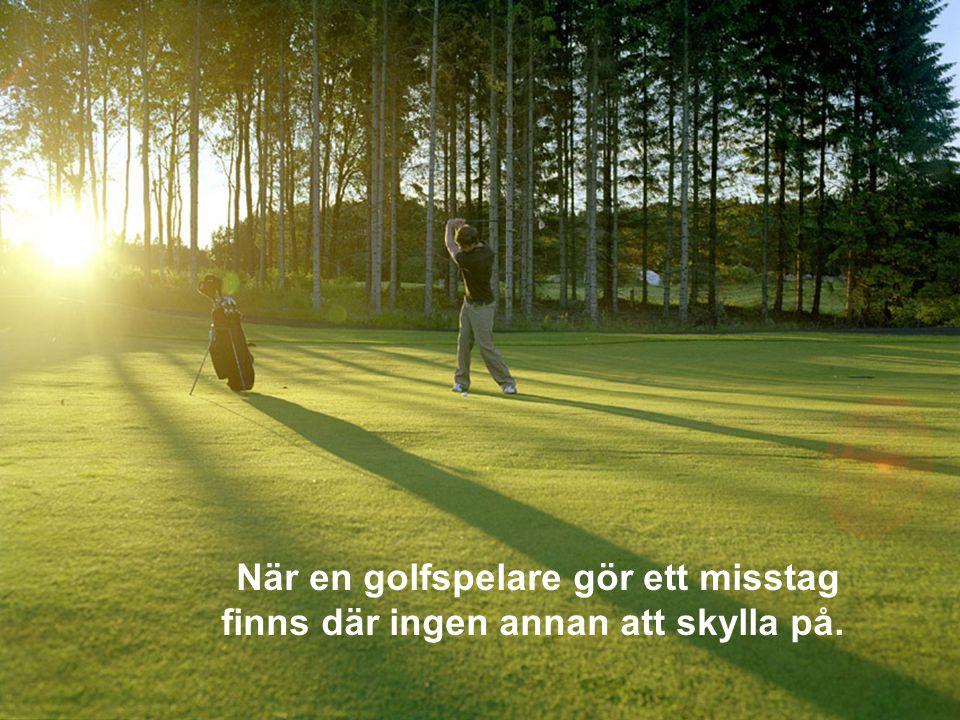 En golftävling leder sällan till att deltagande eller publik hamnar i fängelse efteråt.