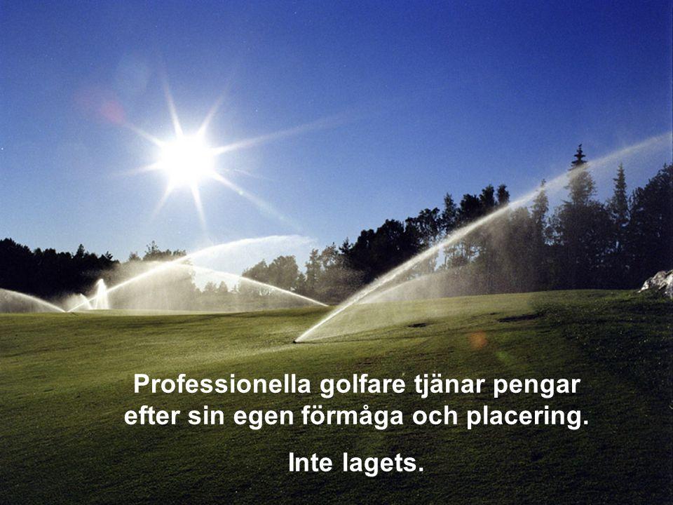 Varje golfbana är unik, spelet tar årtionden att bemästra.