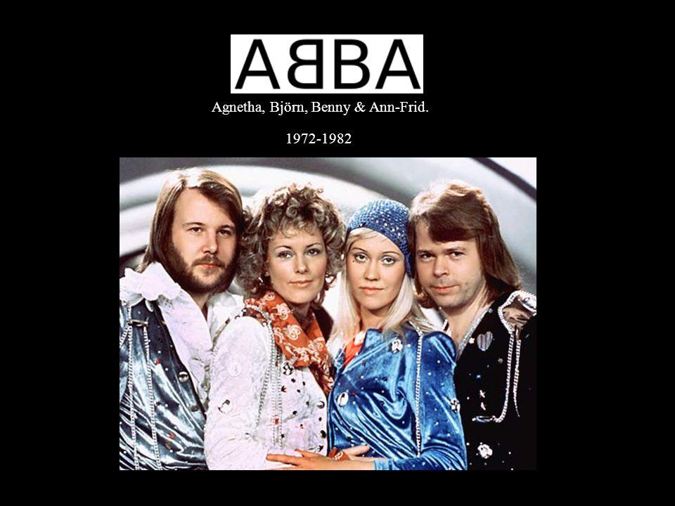 Agnetha, Björn, Benny & Ann-Frid. 1972-1982