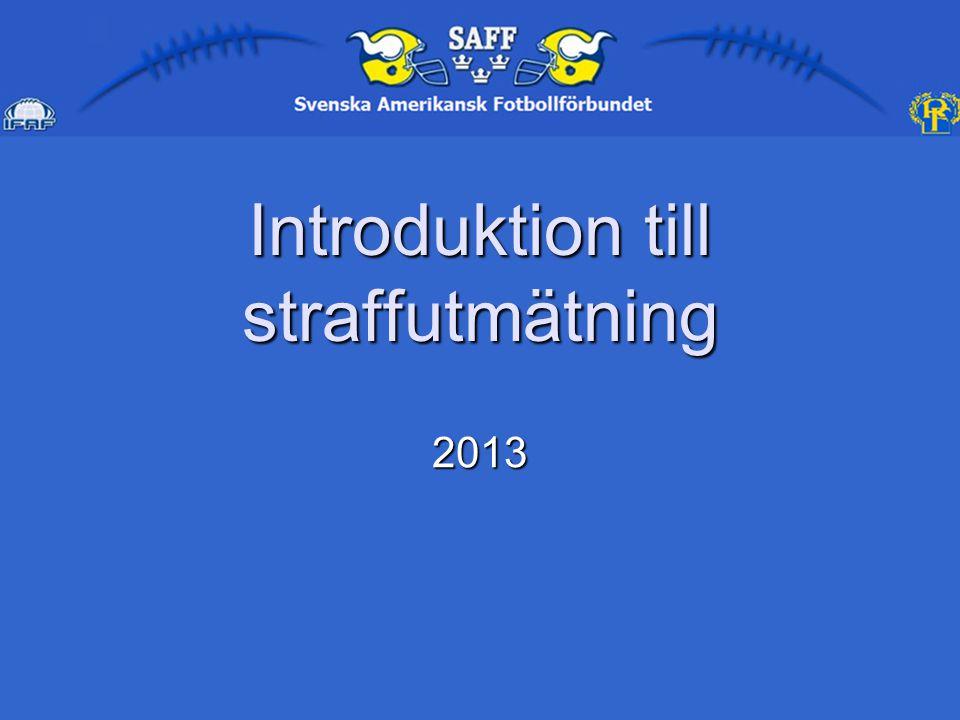 Introduktion till straffutmätning 2013