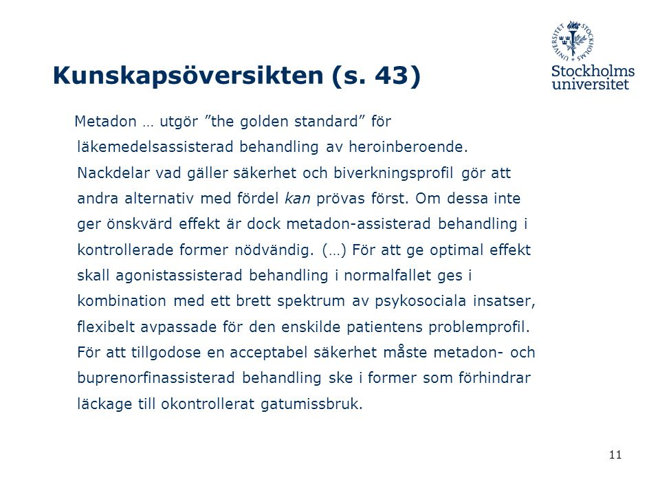 11 Kunskapsöversikten (s.