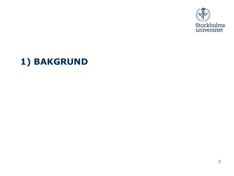 3 1) BAKGRUND