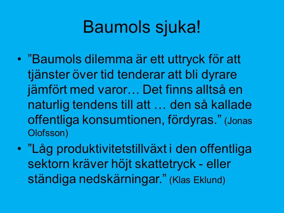 Baumols sjuka.