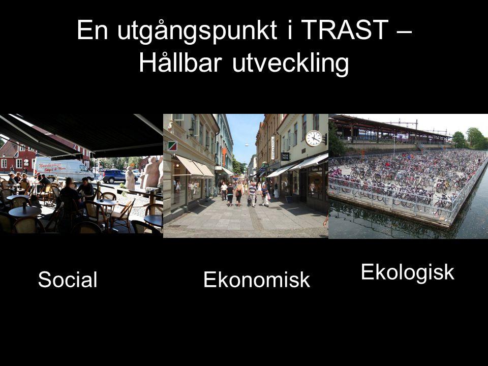 En utgångspunkt i TRAST – Hållbar utveckling SocialEkonomisk Ekologisk