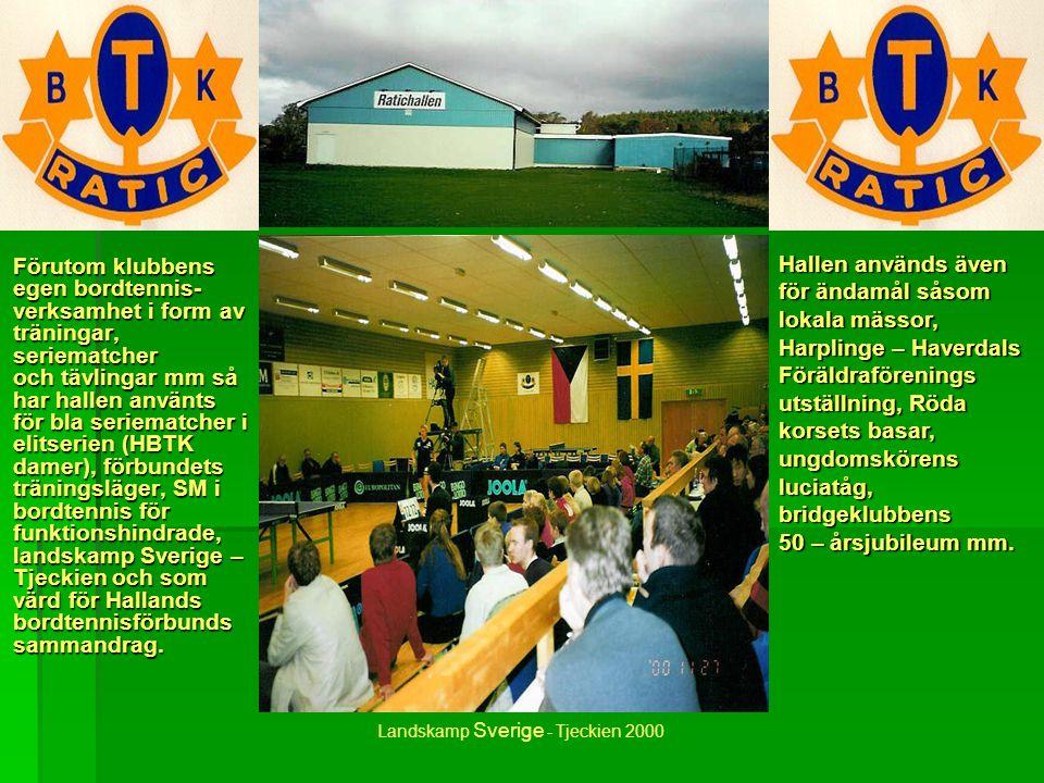 BTK Ratic i Harplinge grundades 1968 och har under alla år utvecklat bordtennisen på landsbygden i norra delarna av Halmstad kommun. Klubben har en my