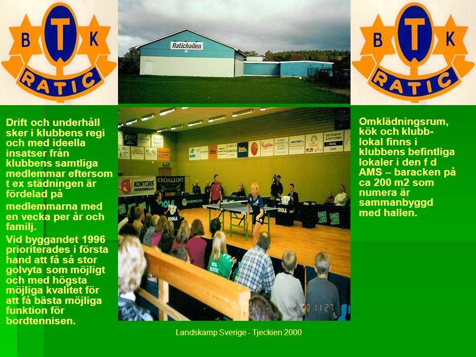 Förutom klubbens egen bordtennis- verksamhet i form av träningar, seriematcher och tävlingar mm så har hallen använts för bla seriematcher i elitserie