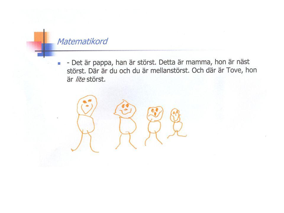 Räkneprinciper Abstraktionsprincipen Ett-till-ett principen Principen om godtycklig ordning Principen om bestämda räkneord Kardinaltalsprincipen