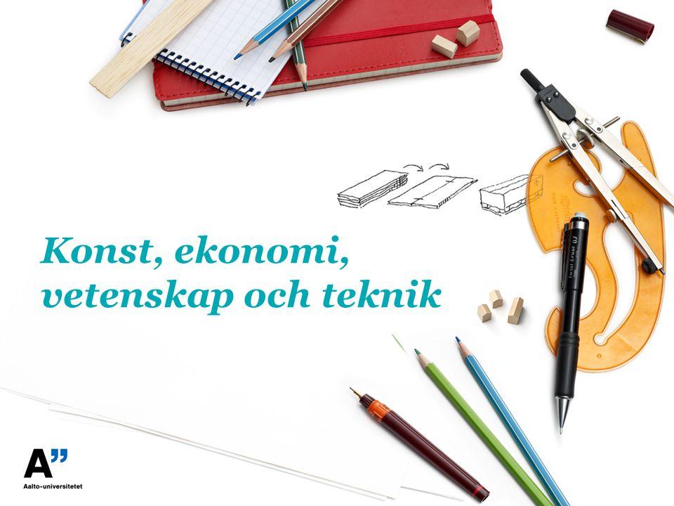 Konst, ekonomi, vetenskap och teknik