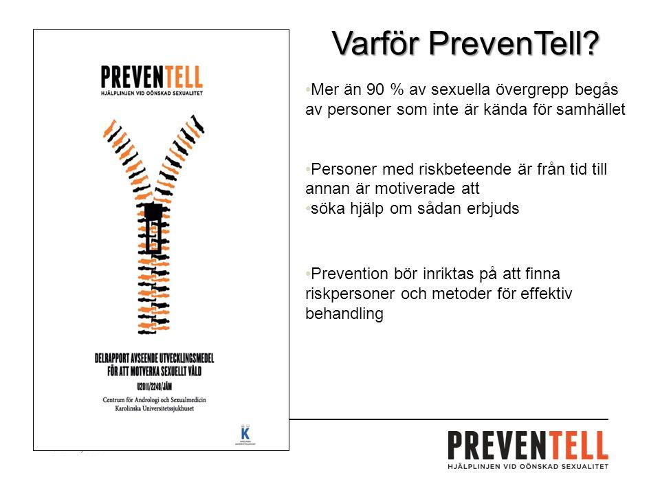 Varför PrevenTell.