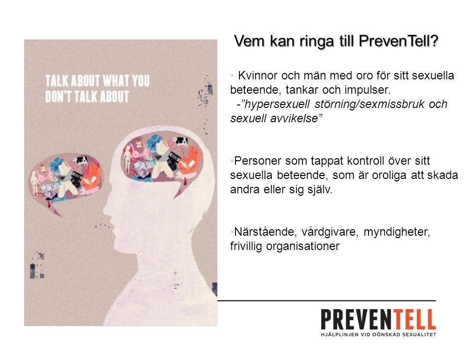 Vem kan ringa till PrevenTell.