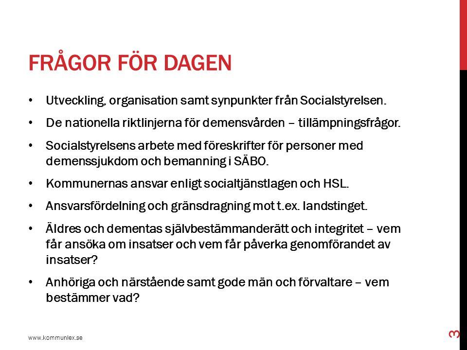 PRIORITERINGAR INOM HÄLSO- OCH SJUKVÅRDEN www.kommunlex.se 34 Hälso- och sjukvårdens ansvar bör så långt möjligt avgränsas till sådana åtgärder som kräver hälso- och sjukvårdens särskilda kompetens.