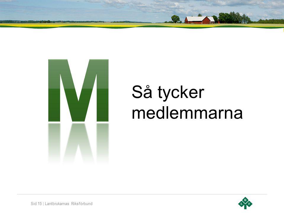 Sid 15 | Lantbrukarnas Riksförbund Så tycker medlemmarna