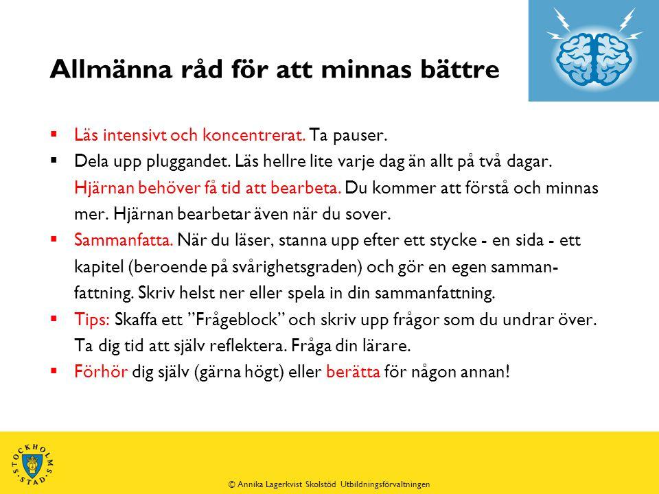 Akronym - exempel  Sveriges grundlagar = STYR = S står för successionsordningen, T för tryckfrihetsförordningen, Y för yttrandefrihetsförordningen och R för regeringsformen.