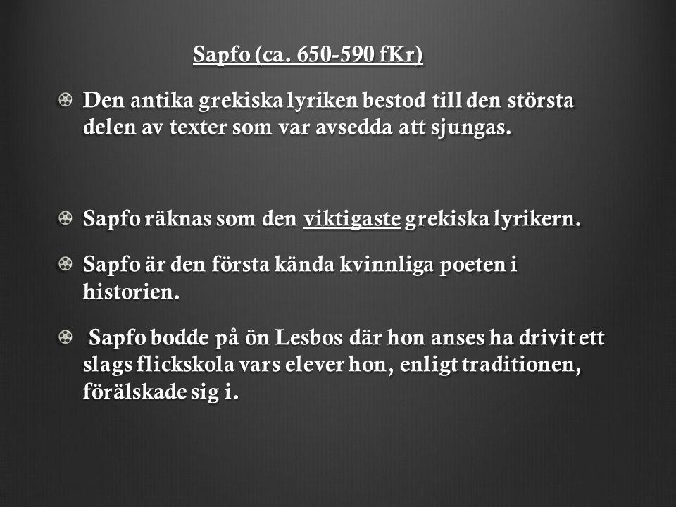 Sapfo (ca.