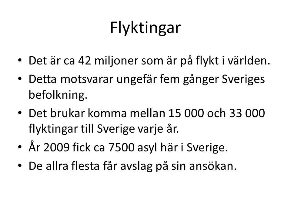 Under 2012 ansökte 43 887 personer om asyl i Sverige.
