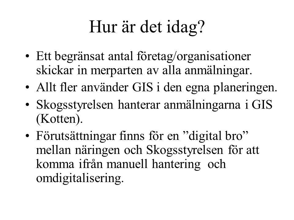 SkogAB Posten Ny digitalisering eAvverka - en digital bro Skogsstyrelsen Enklare hantering Snabbare Kvalité Ger intressanta öppningar