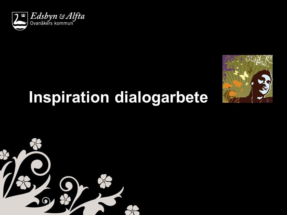 Inspiration dialogarbete