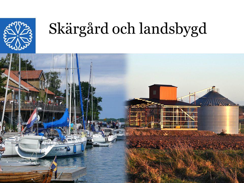 Landstinget i Östergötland Skärgård och landsbygd