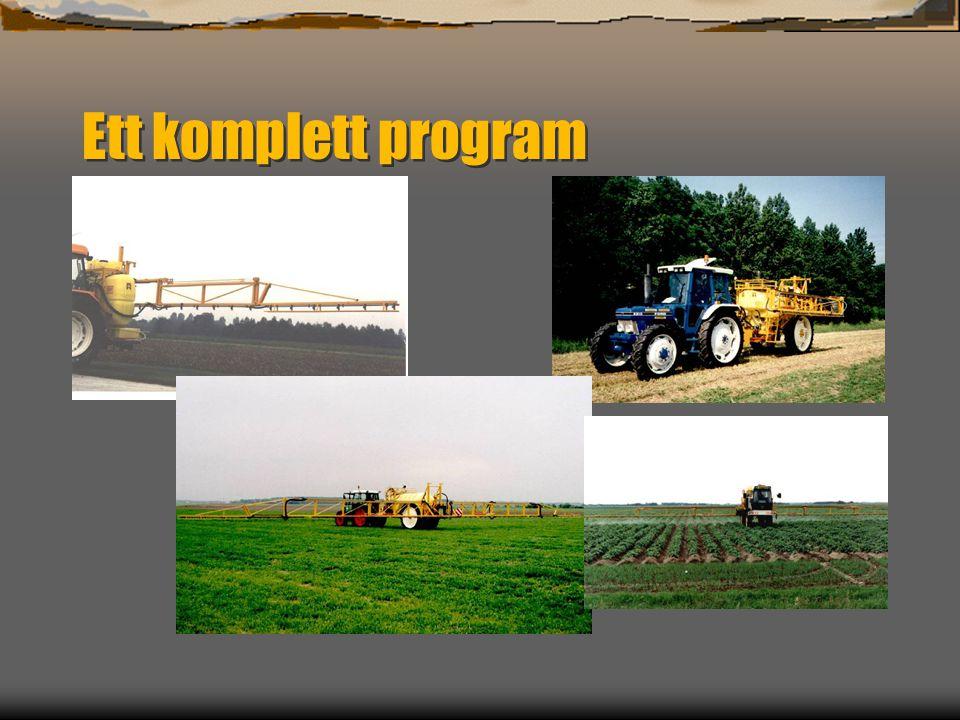 Dubex lantbrukssprutor Bra på växtskydd