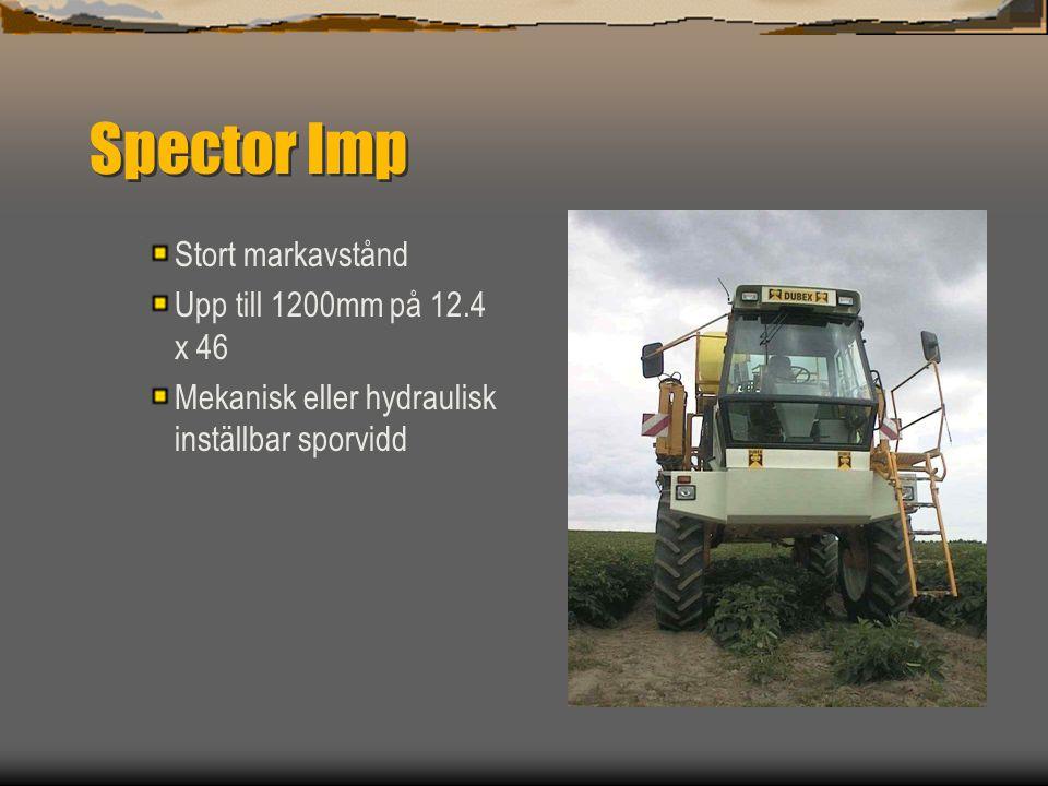 Spector Imp 4000 L  Funktionell design baserad på beprovad teknologi för Dubex program