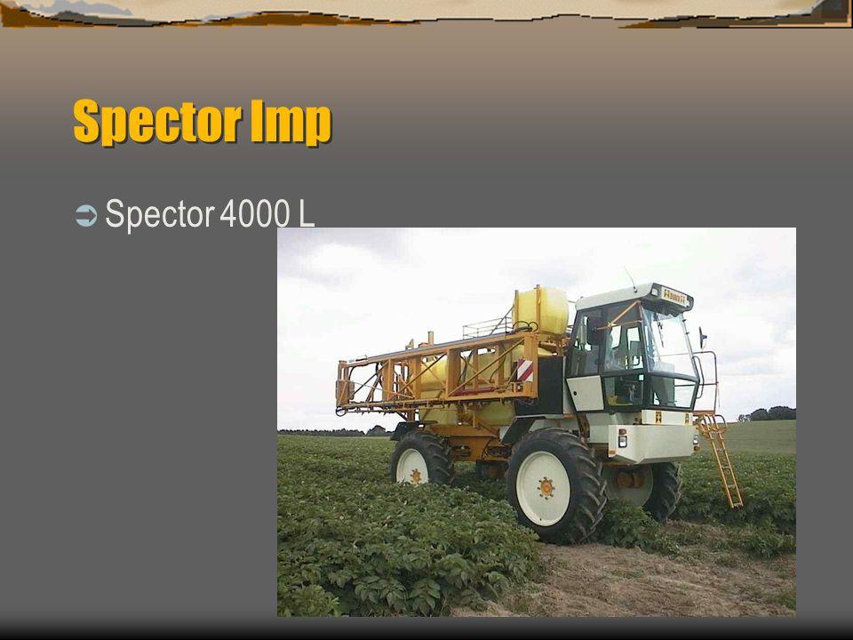 Spector Imp Stort markavstånd Upp till 1200mm på 12.4 x 46 Mekanisk eller hydraulisk inställbar sporvidd