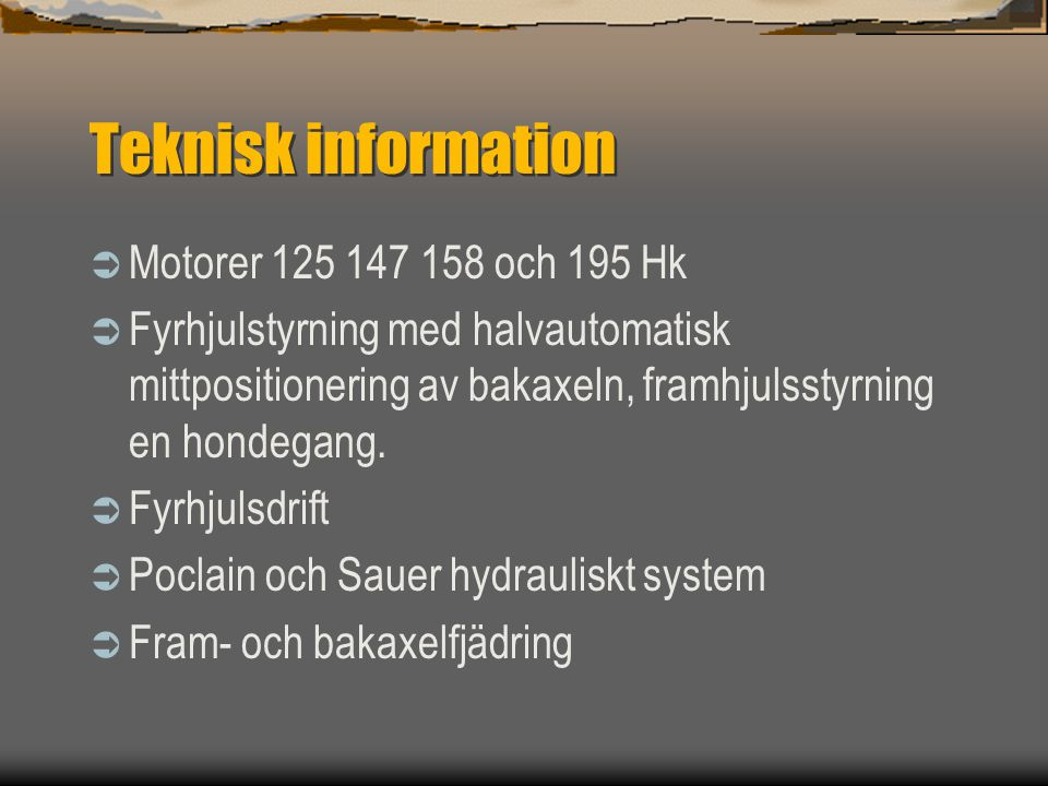 Teknisk Information  2300 – 3200 – 4000 L tanks leverbara.